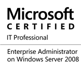 © Microsoft Certified IT Professional - Enterprise Administrator on Windows Server 2008
