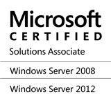 © Microsoft Certified Solutions Associate - Windows Server 2008 - Windows Server 2012